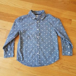 Gymboree Dressed Up Boys Chambray Button Down